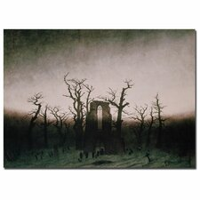 "<strong>Trademark Fine Art</strong> ""Abbey in Oakwood, 1810"" Canvas Art"