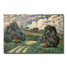 "<strong>Trademark Fine Art</strong> ""Fauve Landscape, 1910"" Canvas Art"