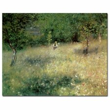 "<strong>Trademark Fine Art</strong> ""Spring at Catou, 1872-5"" Canvas Art"