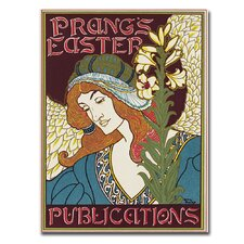 "<strong>Trademark Fine Art</strong> ""Prang's Easters Publications, 1896"" Canvas Art"