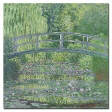 """The Waterylily Pond, 1899"" Canvas Art"