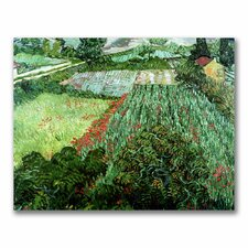 """Field with Poppies"" by Vincent Van Gogh Painting Print on Canvas"