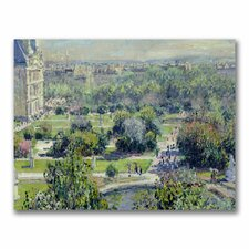 """View of the Tuileries"" Canvas Art"