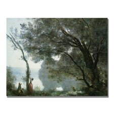 "<strong>Trademark Fine Art</strong> ""Souvenir of Montefontaine"" Canvas Art"