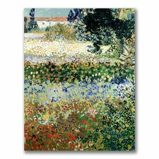 """Garden in Bloom"" by Vincent Van Gogh Painting Print on Canvas"