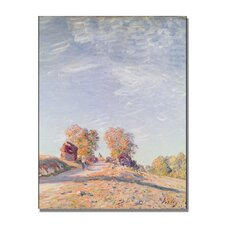 "<strong>Trademark Fine Art</strong> ""Uphill Road in Sunshine"" Canvas Art"
