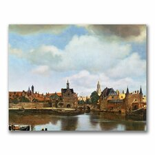 "<strong>Trademark Fine Art</strong> ""View of Delft, 1660-61"" Canvas Art"