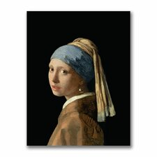 "<strong>Trademark Fine Art</strong> ""Girl with a Pearl Earring"" Canvas Art"