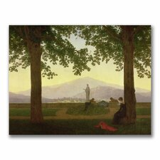 """Garden Terrace, 1811"" by Caspar Friedrich Painting Print on Canvas"
