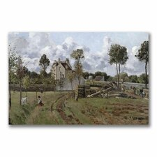 "<strong>Trademark Fine Art</strong> ""Pontoise Landscape"" Canvas Art"