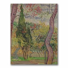 "<strong>Trademark Fine Art</strong> ""The Park at Saint-Paul"" Canvas Art"