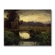 "<strong>Trademark Fine Art</strong> ""Grey Morning"" Canvas Art"