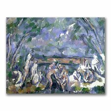 """The Bathers"" by Paul Cezanne Painting Print on Canvas"