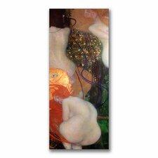 """Goldfish, 1901-02"" by Gustav Klimt Painting Print on Canvas"