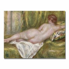 """""""Reclining Nude from the Back"""" by Pierre Renoir Painting Print on Canvas"""