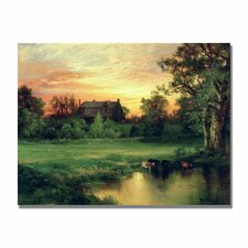 "<strong>Trademark Fine Art</strong> ""East Hampton, Long Island"" Canvas Art"
