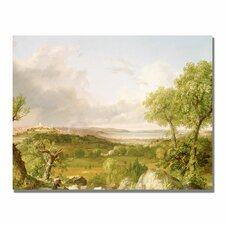"<strong>Trademark Fine Art</strong> ""View of Boston"" Canvas Art"