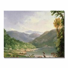 "<strong>Trademark Fine Art</strong> ""Kentucky River"" Canvas Art"