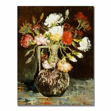 """Bouquet of Flowers II"" by Vincent Van Gogh Painting Print on Canvas"