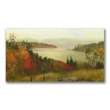 "<strong>Trademark Fine Art</strong> ""Raquette Lake, 1869"" Canvas Art"