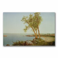 "<strong>Trademark Fine Art</strong> ""Rhode Island Coast"" Canvas Art"