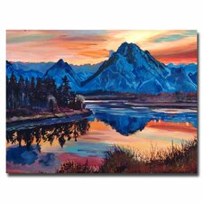 <strong>Trademark Fine Art</strong> 'Mountain Serenade' Canvas Art
