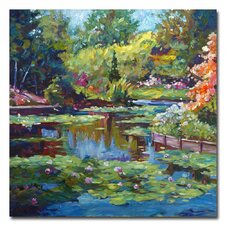 'Serenity Pond' Canvas Art