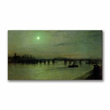 "<strong>Trademark Fine Art</strong> ""Battersea Bridge"" Canvas Art"
