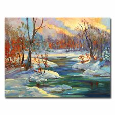 <strong>Trademark Fine Art</strong> 'Approaching Winter' Canvas Art