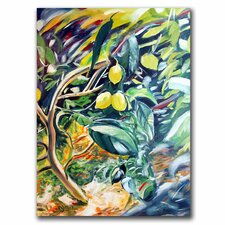 "<strong>Trademark Fine Art</strong> ""Lemon Tree"" Canvas Art"