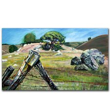"<strong>Trademark Fine Art</strong> ""Nicasio Fense Post"" Canvas Art"