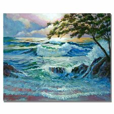 <strong>Trademark Fine Art</strong> 'Matsushima Coast' Canvas Art