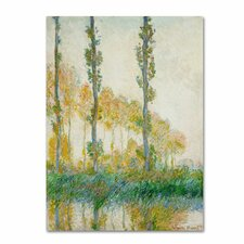 "<strong>Trademark Fine Art</strong> ""The Three Tree Autumn"" Canvas Art"