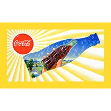 "Coca-Cola ""Sun and Rain Bottle"" Canvas Art"