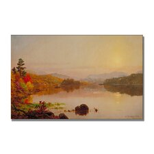 "<strong>Trademark Fine Art</strong> ""Lake Wawayanda"" Canvas Art"