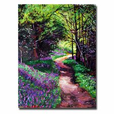 "<strong>Trademark Fine Art</strong> ""Lavendar Lane"" Canvas Art"