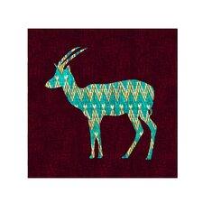 """Ikat Antelope"" by Budi Satria Kwan Painting Print on Canvas"