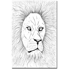 <strong>Trademark Fine Art</strong> 'Lion' Canvas Art