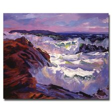 <strong>Trademark Fine Art</strong> 'Palos Verdes Beach' Canvas Art