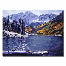 <strong>Trademark Fine Art</strong> 'Rocky Mountain Solitude' Canvas Art