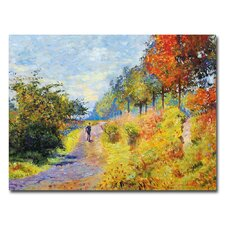 <strong>Trademark Fine Art</strong> 'The Sheltered Path' Canvas Art