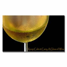 <strong>Trademark Fine Art</strong> 'Golden Wine' Canvas Art