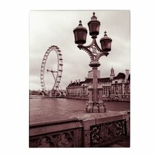 <strong>Trademark Fine Art</strong> 'London Eye 2' Canvas Art