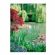 'Monet's Lily Pond 2' Canvas Art