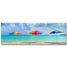 'Umbrellas' by Preston Photographic Print on Canvas