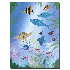 <strong>Trademark Fine Art</strong> 'Fish' Canvas Art