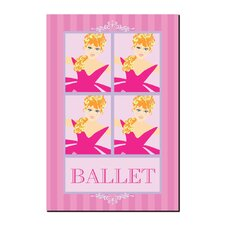 <strong>Trademark Fine Art</strong> 'Ballet in Pink II' Canvas Art
