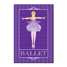 <strong>Trademark Fine Art</strong> 'Ballet I' Canvas Art