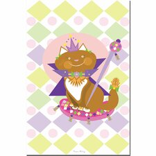 <strong>Trademark Fine Art</strong> 'Pretty Kitty Princess' Canvas Art