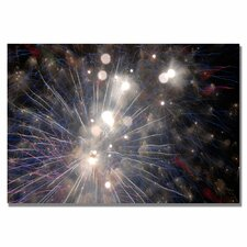 <strong>Trademark Fine Art</strong> 'Abstract Fireworks 33' Canvas Art